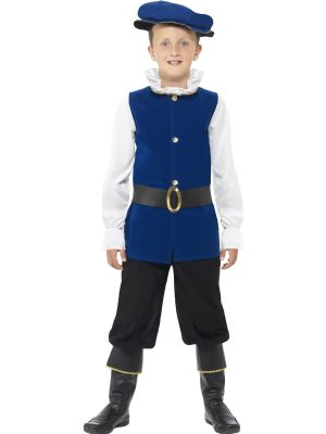 Tudor Costume | Boys Fancy Dress
